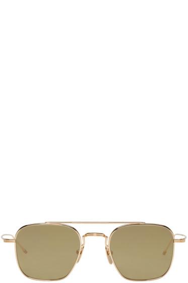 Thom Browne - Gold TB 907 Sunglasses