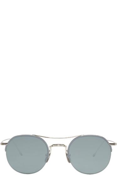 Thom Browne - Silver TB 903 Sunglasses