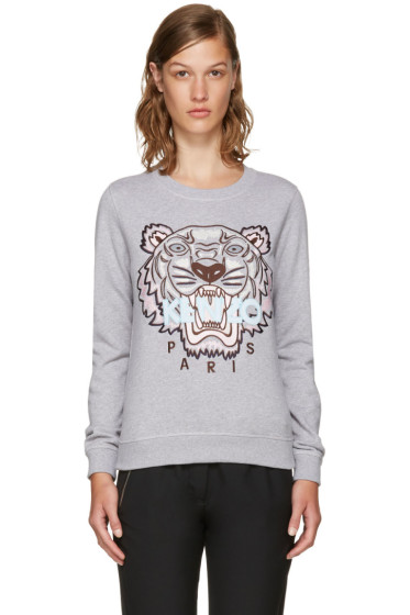 Kenzo - Grey Limited Edition Tiger Sweatshirt