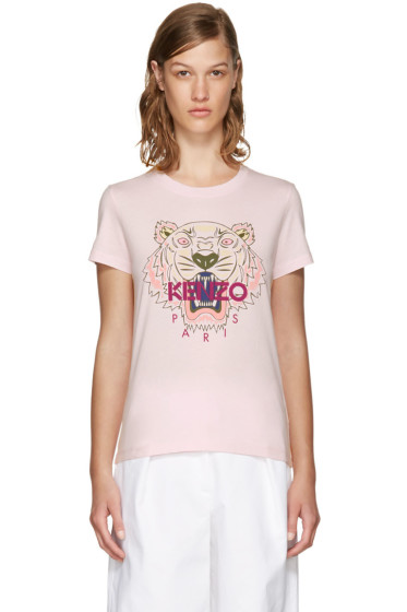 Kenzo - Pink Limited Edition Tiger T-Shirt