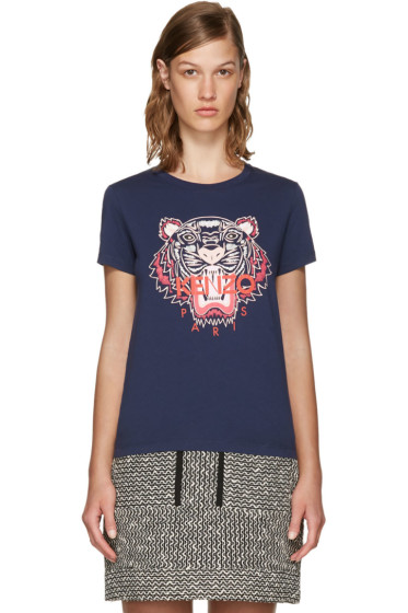 Kenzo - Navy Limited Edition Tiger T-Shirt