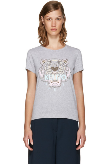 Kenzo - Grey Limited Edition Tiger T-Shirt