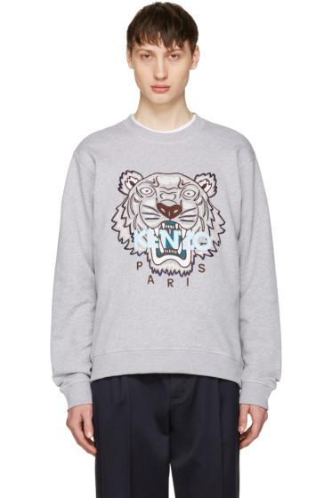 Kenzo - Grey Tiger Sweatshirt