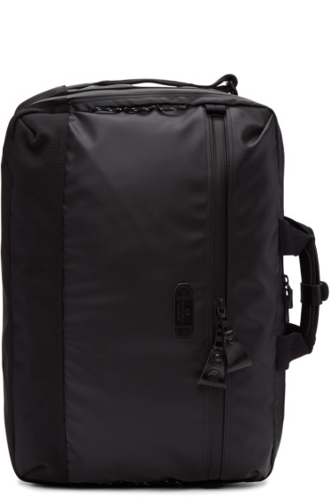 Master-Piece Co - Black Nylon Slick Three-Way Briefcase