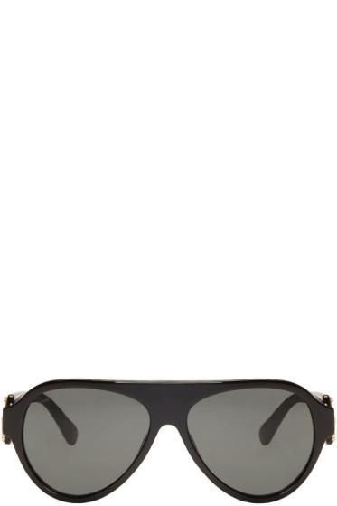 Versace - Black Rock Icons Medusa Pilot Sunglasses