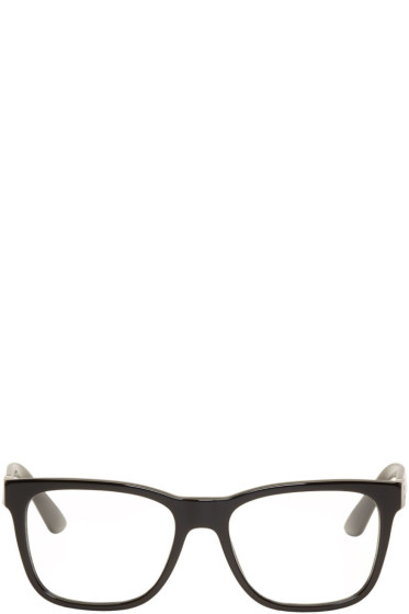 Versace - Black Rectangular Glasses