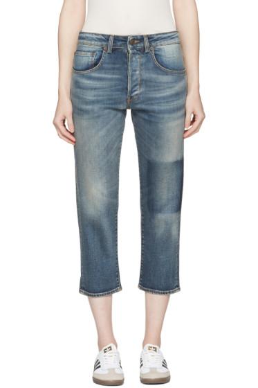 6397 - Blue Shorty Jeans