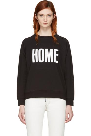 6397 - Black 'Hometown' Sweatshirt