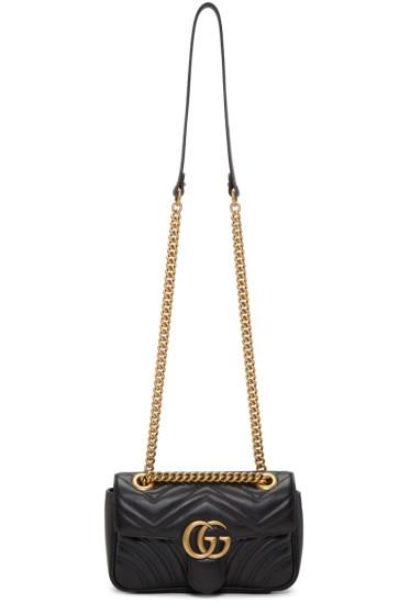 Gucci - Black Mini Marmont 2.0 Shoulder Bag