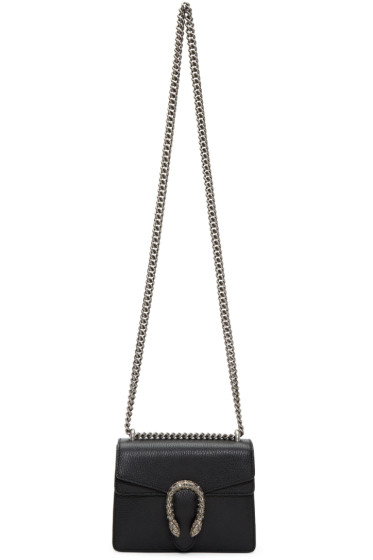 Gucci - Black Mini Dionysus Bag
