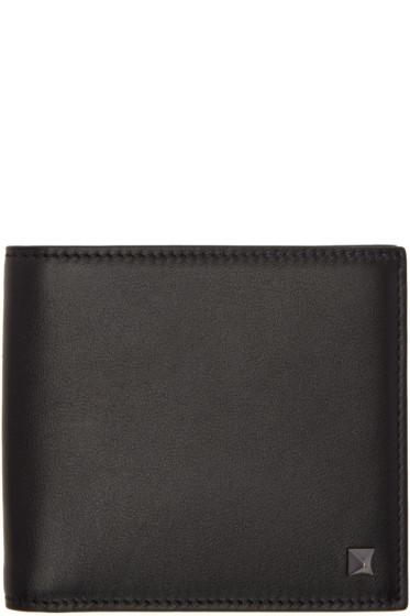 Valentino - Black Rockstud Wallet