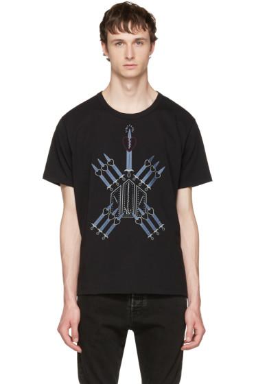 Valentino - Black Love Blade T-Shirt