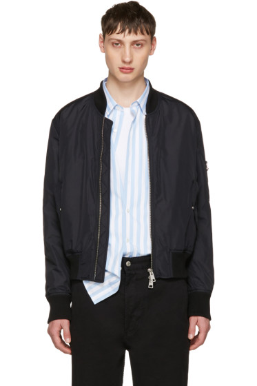 AMI Alexandre Mattiussi - Black Zipped Teddy Jacket