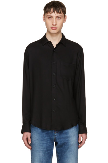 AMI Alexandre Mattiussi - Black Wide Shirt