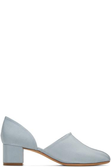Mansur Gavriel - Blue D'Orsay Heels