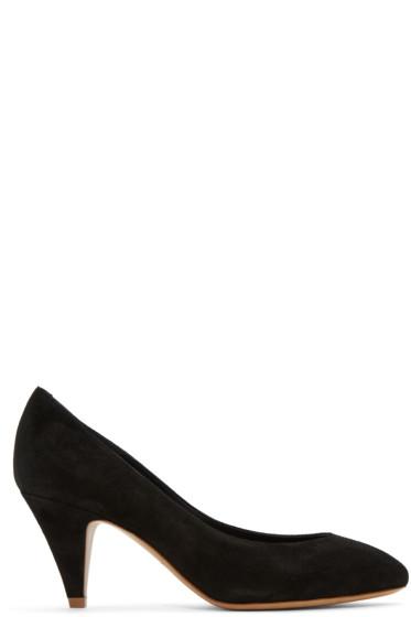 Mansur Gavriel - Black Suede Classic Heels