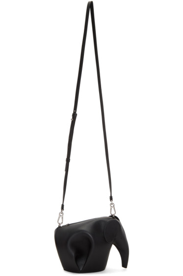 Loewe - Black Mini Elephant Bag
