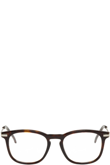 Fendi - Tortoiseshell Square Glasses