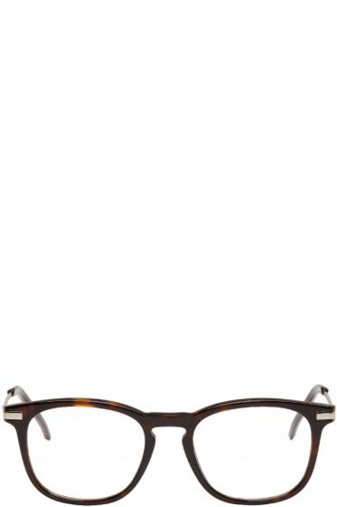 Fendi - Tortoiseshell Square Glasses