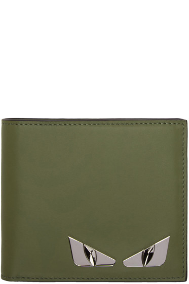 Fendi - Green 'Bag Bugs' Wallet