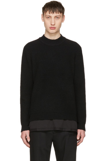 Craig Green - Black Bouclé Sweater