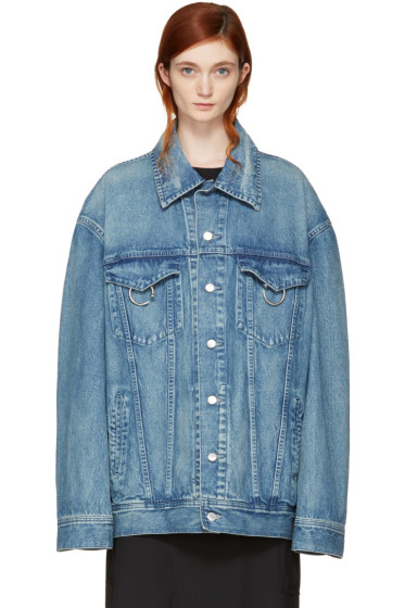Ambush - Blue Oversized Denim Jacket