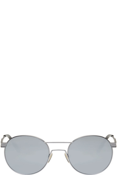 Han Kjobenhavn - Silver 'Green' Sunglasses