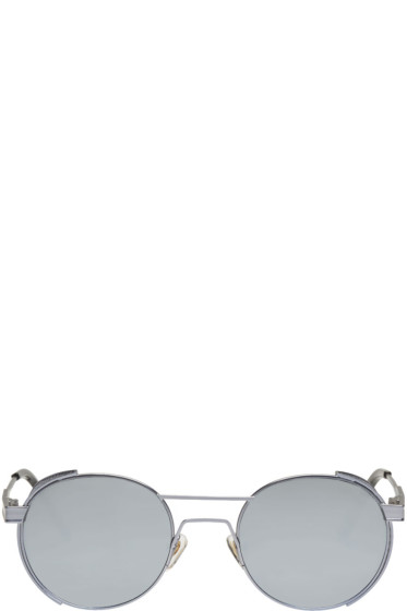 Han Kjobenhavn - Silver 'Green Outdoor' Sunglasses