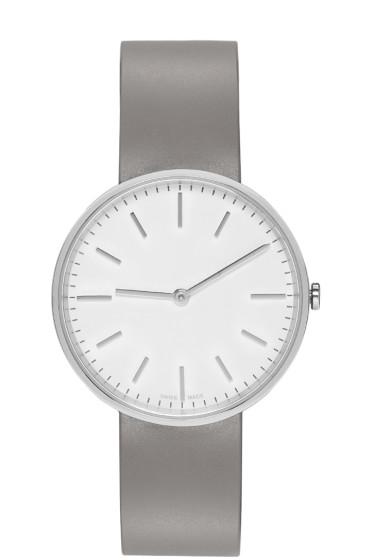 Uniform Wares - Silver & Grey Polished M37 Watch
