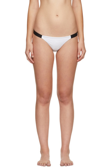Ward Whillas - Reversible White & Black Dalton Bikini Bottoms