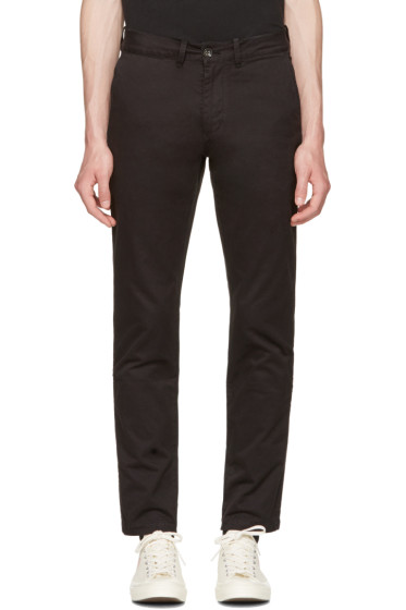 Saturdays NYC - Black John Chinos