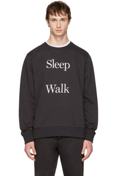 Saturdays NYC - Black Bowery 'Sleep Walk' Sweatshirt