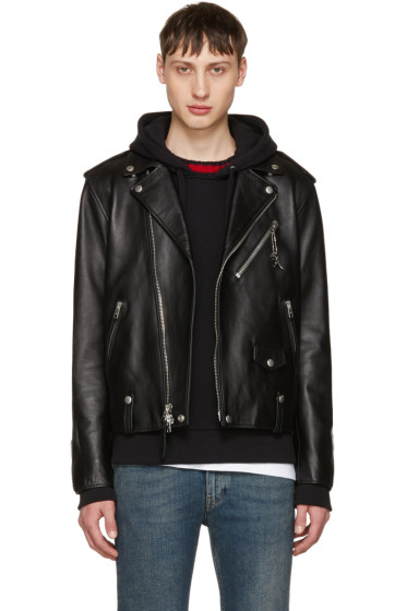 Coach 1941 - Black Leather Moto Jacket