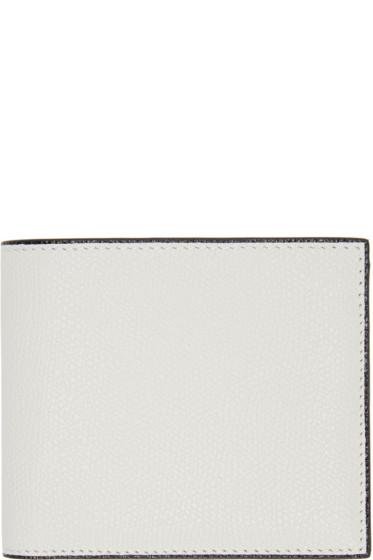 Valextra - Off-White 6CC Bifold Wallet