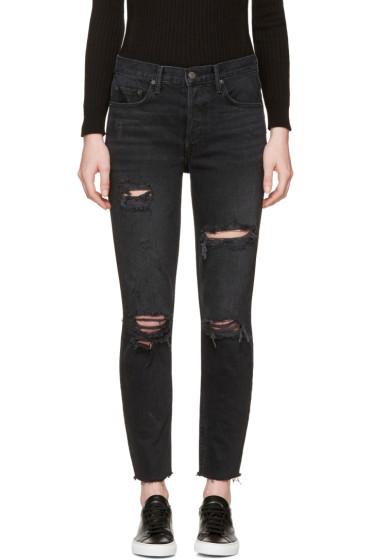 Grlfrnd - Black Karolina Jeans