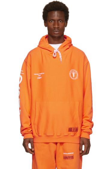 Heron Preston - Orange DSNY Edition 'Uniform' Hoodie