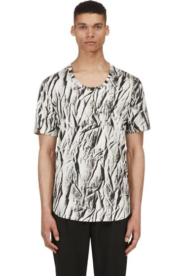 En Noir - Black & White Coal Wasteland T-Shirt