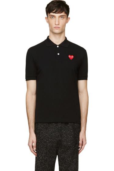 Comme des Garçons Play - Black Heart Logo Polo