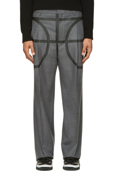 Givenchy - Grey Basketball Pillar Trousers
