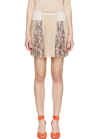 Mary Katrantzou - Nude Vonga Skirt