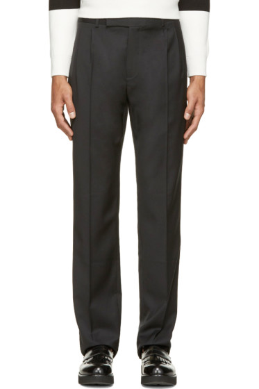 J.W. Anderson - Black Wool Classic Trousers