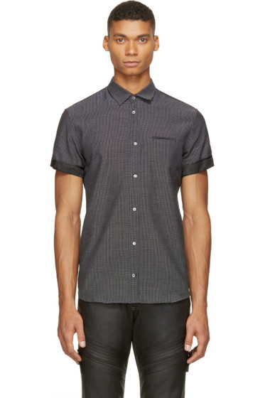 Costume National - Black Woven Shirt