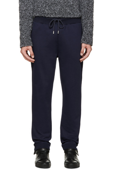 Christopher Kane -  Navy French Terry Lounge Pants