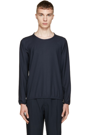 Paul Smith - Navy Pin-Dot Pullover