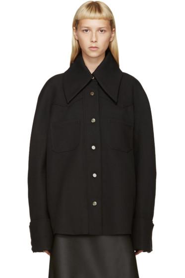 Thomas Tait - Black Western Shirt