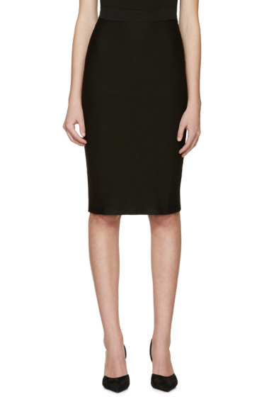 Dsquared2 - Black Knit Pencil Skirt