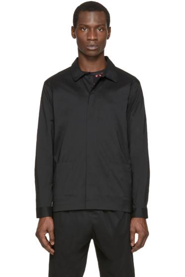Christopher Kane - Black Stretch Poplin Jacket