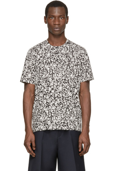 Christopher Kane - Black & White Decay Print Shirt