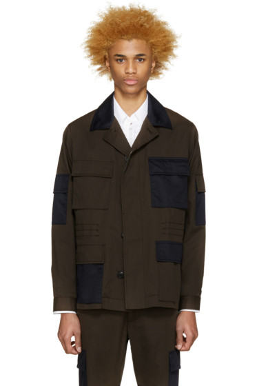Marc Jacobs - Green & Navy Army Jacket