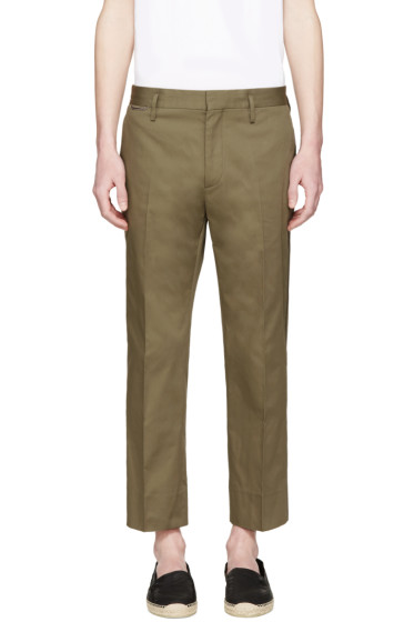 Marc Jacobs - Green Pleated Trousers